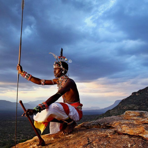 You can learn all about the Samburu people during Saruni Samburu's Warriors Academy.