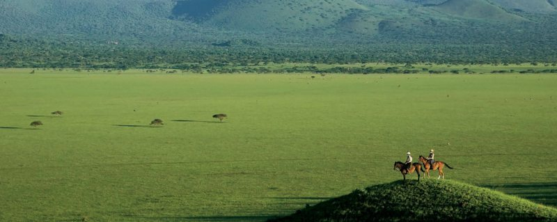 You can get a real sense of the vastness of the wilderness during Kenya horseback safari.