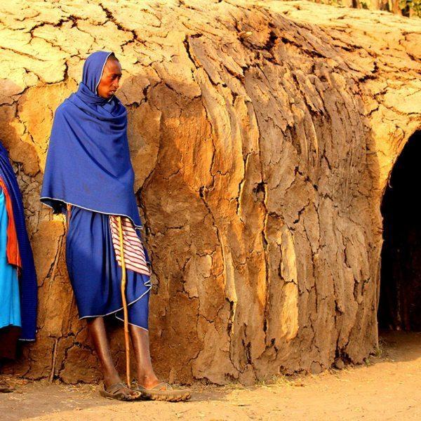 Visiting a Maasai village, or manyatta, will give fascinating insight into the Maasai lifestyle. © Grant Telfer
