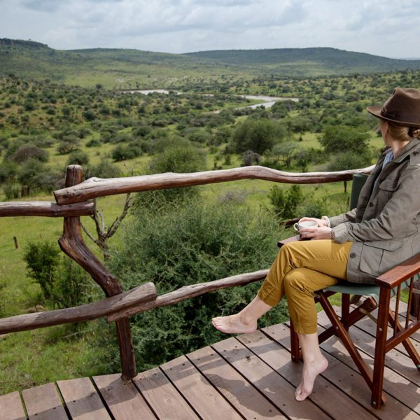 Loisaba Star Beds is set in some 23,000ha of private wildlife conservancy. © Elewana Collection