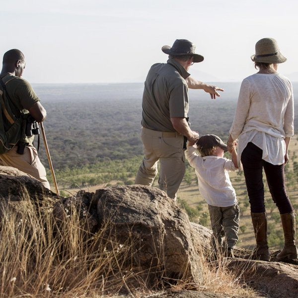 Children are welcome at Elsa's Kopje Meru; when they're not with you, there are children's activities to entertain them. © Elewana Collection