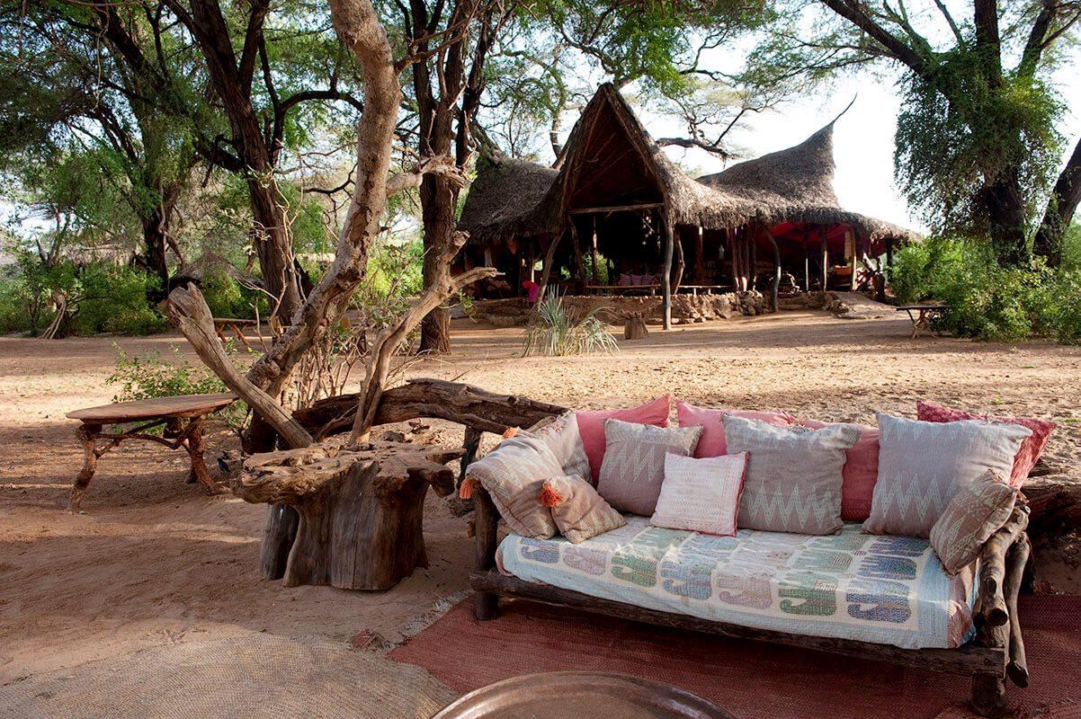 Luxury Kenya Safari Lodge Elephant Watch Camp Art Of
