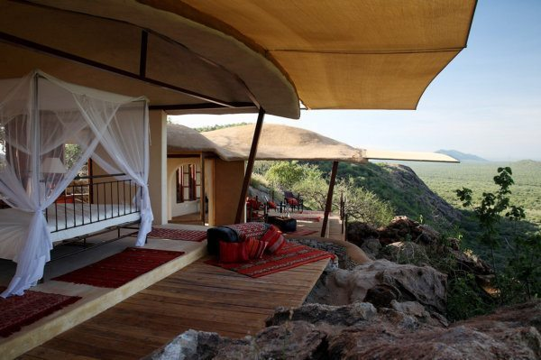 There are just six villas at Saruni Samburu. © Saruni