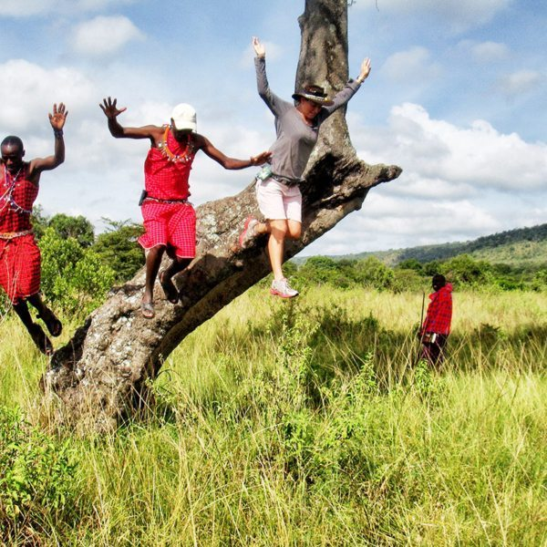 Spending time with the Maasai in the Masai Mara is an unforgettable experience. © Alex Walker's Serian