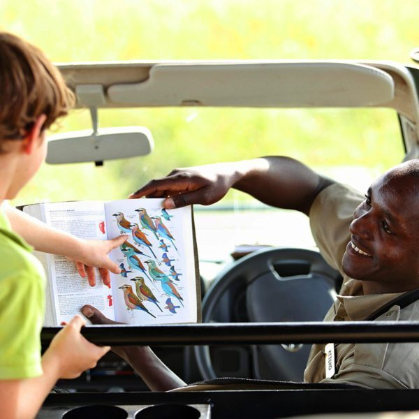Children from six years are not only welcome at Angama Mara, but the friendly guides will even teach them a few things while they're on safari. © Angama Mara