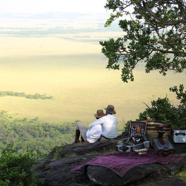 You can enjoy a picnic at Angama Mara on the very site that the famous scene was filmed. © Angama Mara