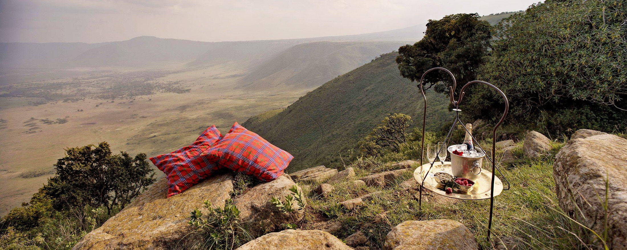 Luxury Tanzania Safari Lodge Ngorongoro Crater Lodge Art Of Safari