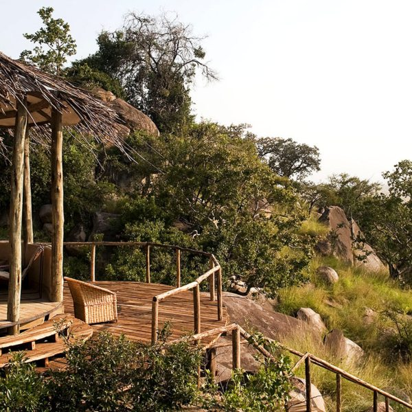 Each of the two camps at Lamai Serengeti have their own guest areas.
