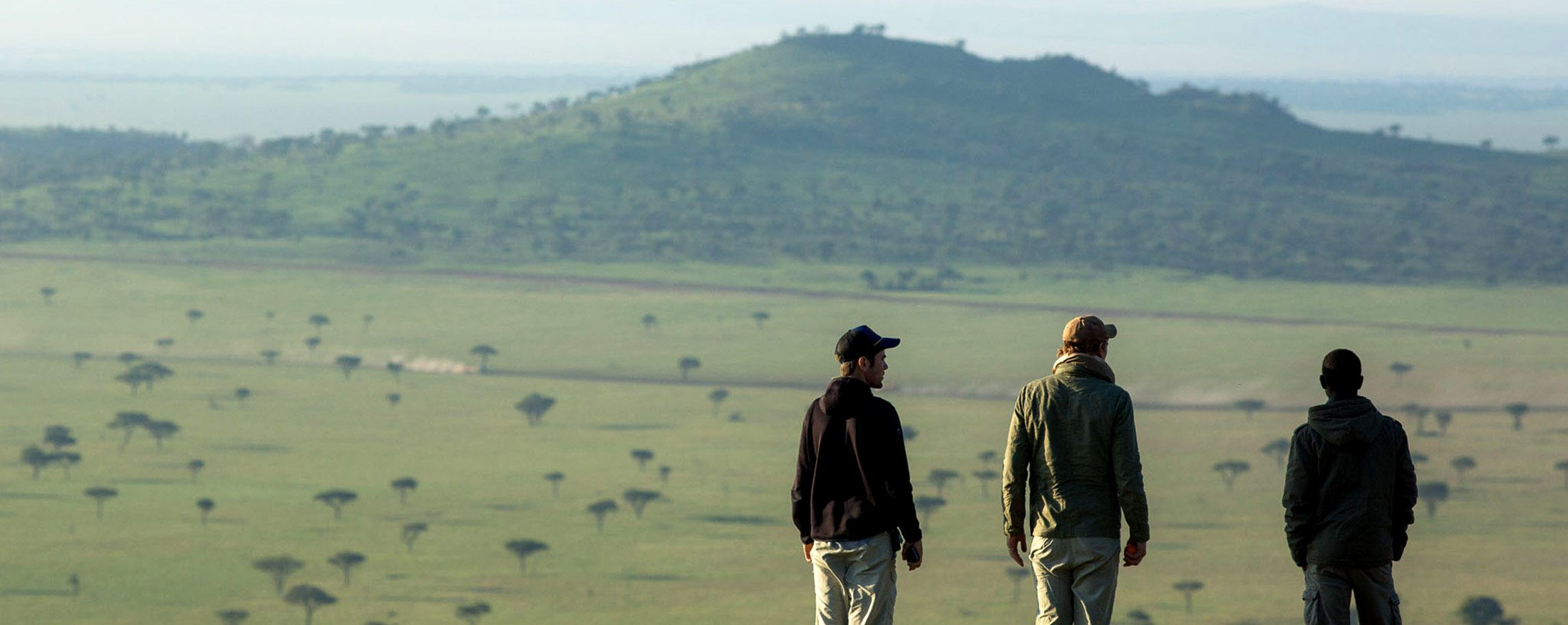 A walking safari from Sasakwa Lodge is a great way to see the smaller creatures and plants.