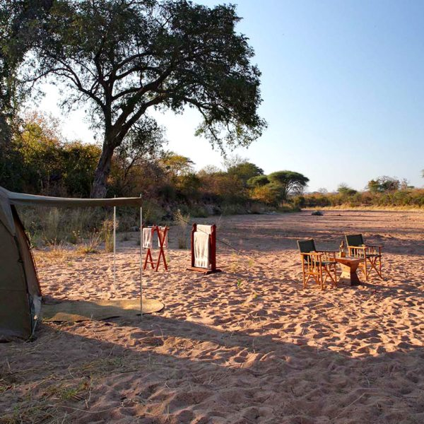 Fly camping lets you get a real feel for southern Tanzania.