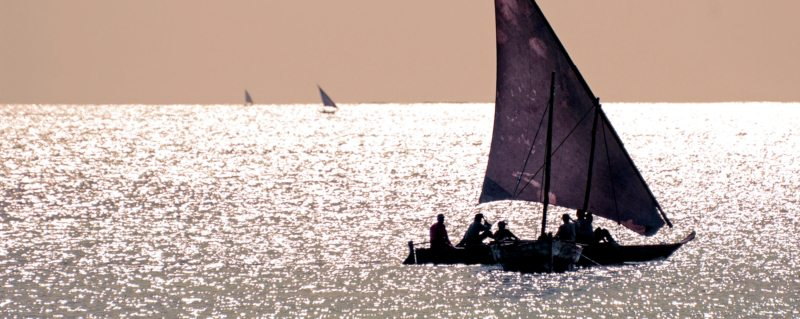 Zanzibar dhow cruise | Zanzibar is the semi-autonomous part of Tanzania in East Africa. It is composed of the Zanzibar Archipelago in the Indian Ocean, 25–50 kilometres off the coast of the mainland, and consists of many small islands and two large ones: Unguja and Pemba.