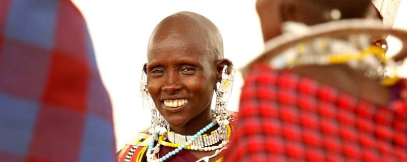 You'll get to meet the majestic Maasai in northern Tanzania.
