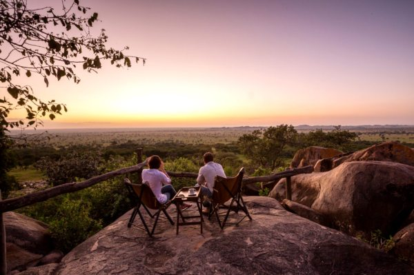 Serengeti Pioneer Camp has lovely views of the southern Serengeti National Park. © Elewana Collection