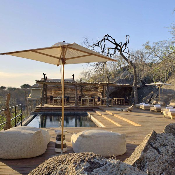 With a pool like this, you might not want to leave Mwiba Lodge. © Legendary Expeditions
