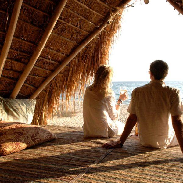 End the day with sundowners overlooking Lake Tanganyika at Greystoke Mahale. © Nomad Tanzania