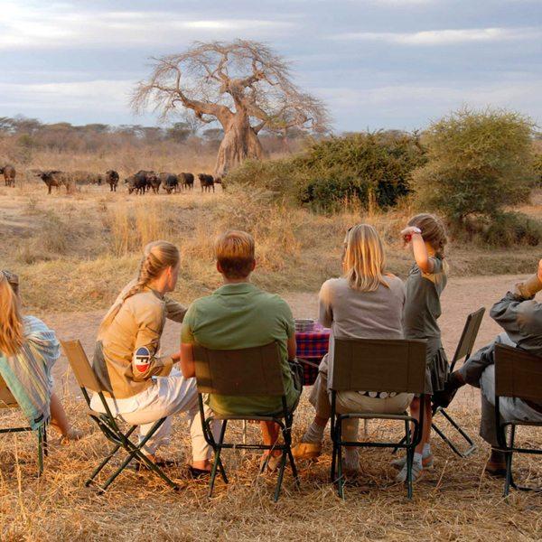 Children aged six and older are welcome at Jongomero. © Selous Safari Company