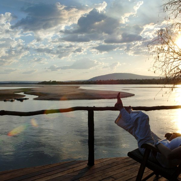 Watch the Rufiji River from your lodge and see what wildlife you can spot. © Nomad Tanzania