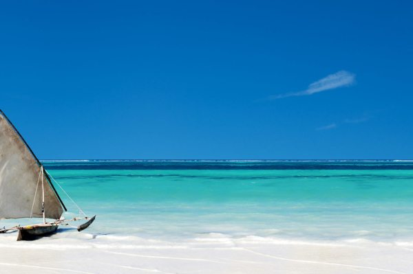 Zanzibar is known for its white, sandy beaches and glorious turquoise waters.
