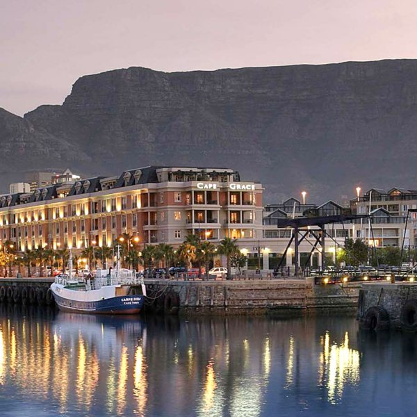 Cape Grace is set in the heart of Cape Town's V&A Waterfront.