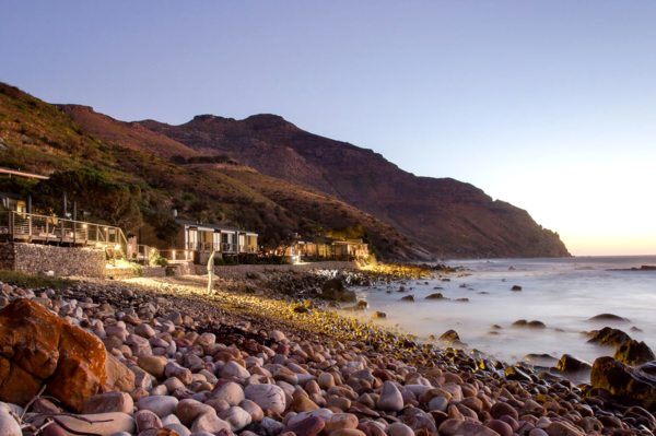 Tintswalo Atlantic has a moody seaside location.