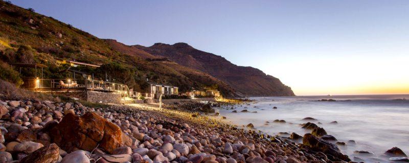 Tintswalo Atlantic has a moody seaside location.