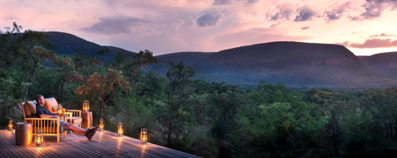 Marataba Trails Lodge has a maximum of eight guests at any one time.