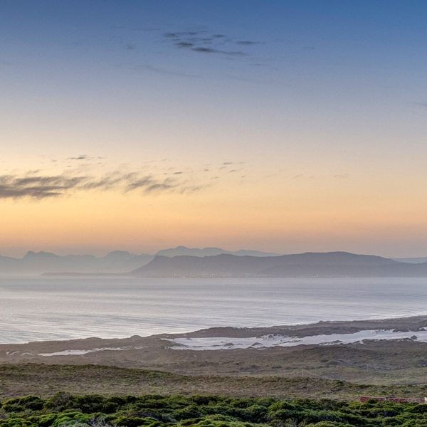 Grootbos Forest Lodge overlooks Walker Bay.