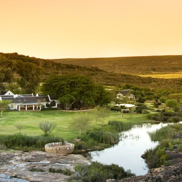 Bushmans Kloof is set in 7,500ha of private wilderness.