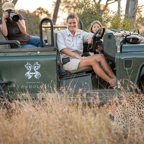 You won't get much closer to big cats in the wild than this. © Londolozi