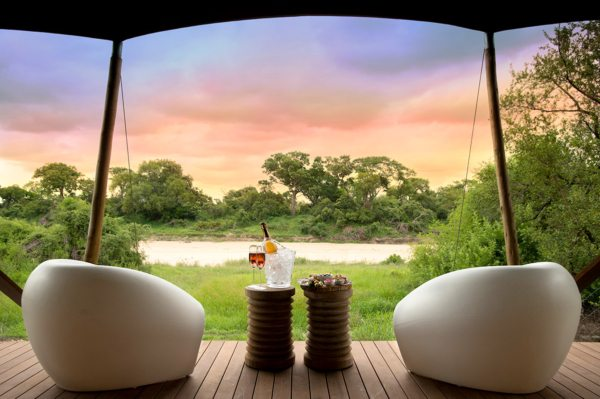 You'll be blown away by the views from Ngala Tented Camp. © &Beyond