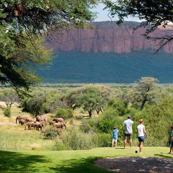 The whole family will enjoy walking in the Waterberg. © More Private Travel