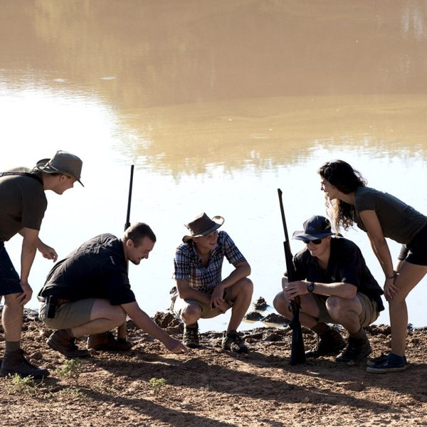 Learn all about animal tracks while walking in the Waterberg. © More Private Travel