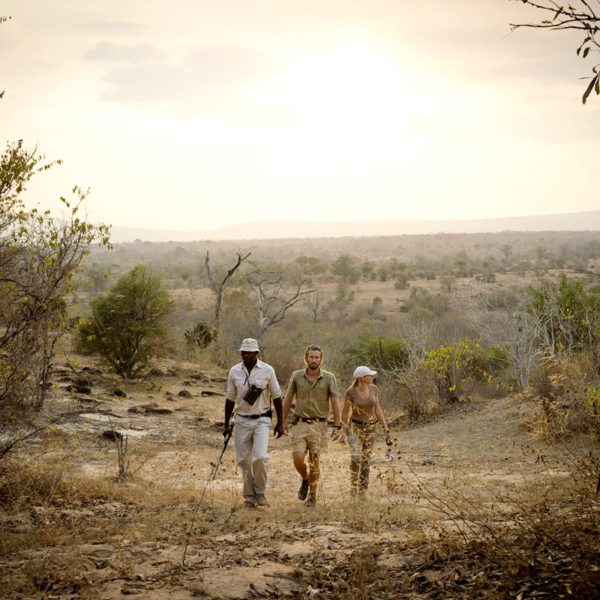 Walking safaris are a great way to explore the Selous. © Nomad Tanzania