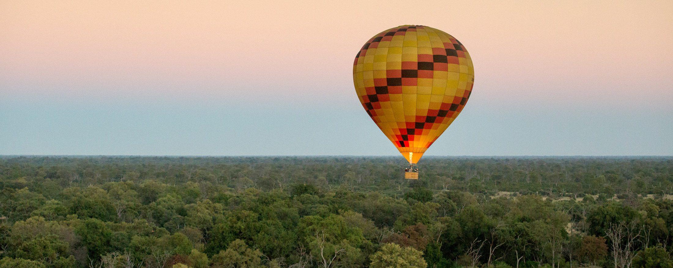 An Okavango Delta balloon safari is the experience of a lifetime.