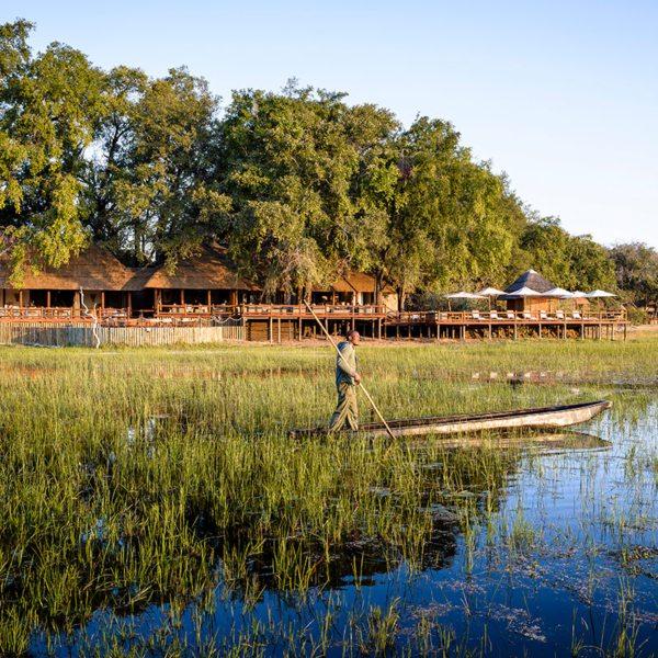 Mekoro are traditional canoe-like vessels. © Sanctuary Retreats