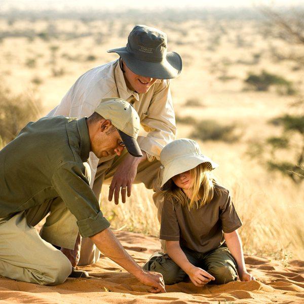 Children are welcome at The Motse. © Tswalu Kalahari