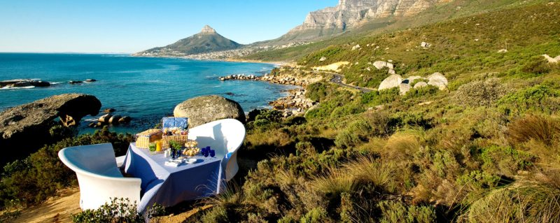 The mountainside picnics at The 12 Apostles Hotel and Spa are simply unbeatable.