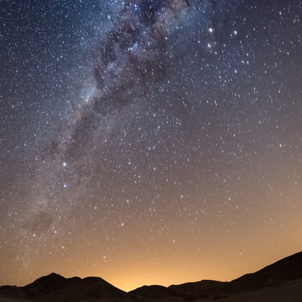 Seeing the Milky Way from Namibia is extraordinary.