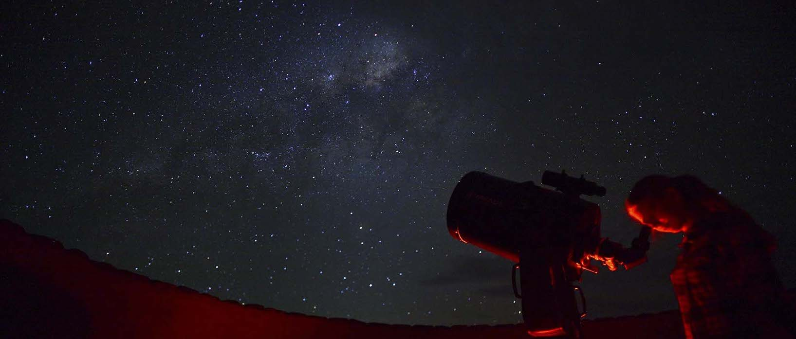 Sossusvlei Desert Lodge has an outdoor observatory.