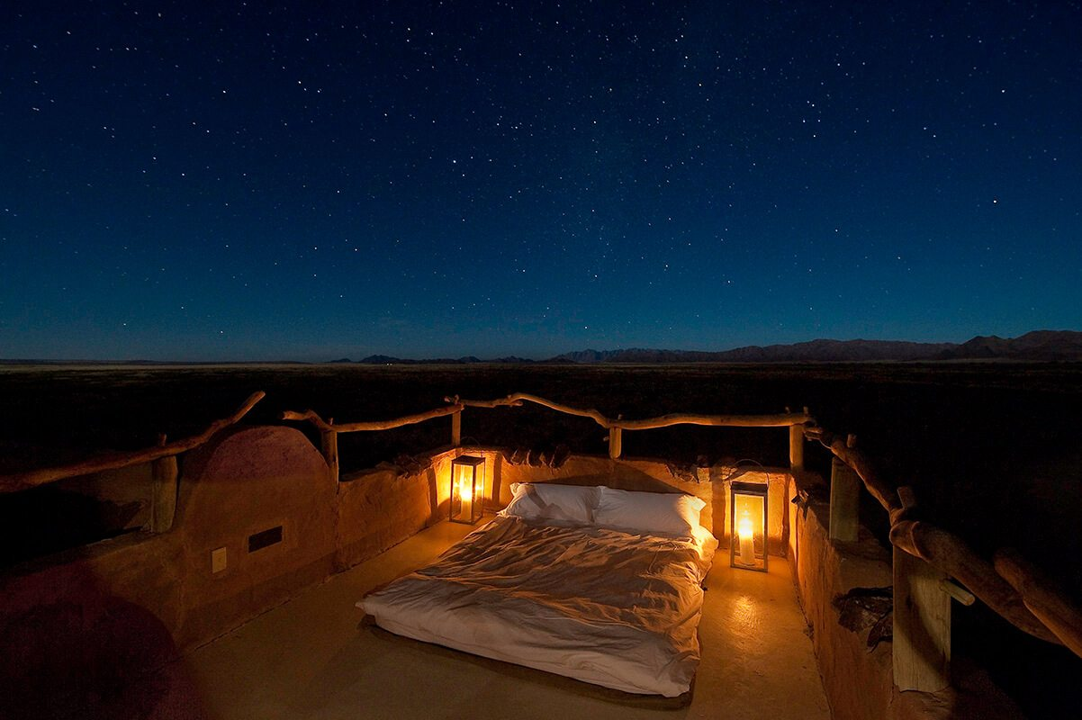 Little Kulala has rooftop star beds.