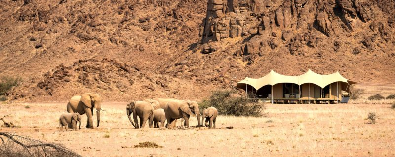 Hoanib Skeleton Coast is in Namibia's rocky Kunene region.