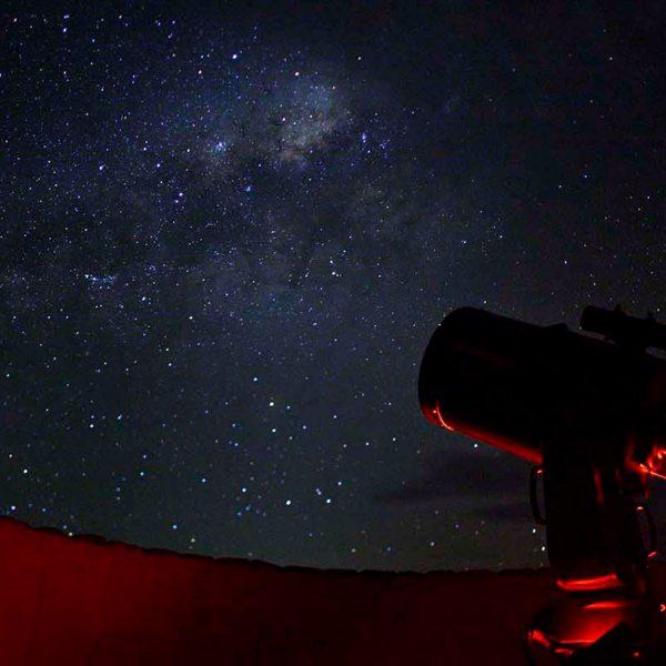 Sossusvlei Desert Lodge has an outdoor observatory. © &Beyond