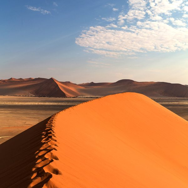 Fitter folk can attempt climbing the enormous Dune 45.