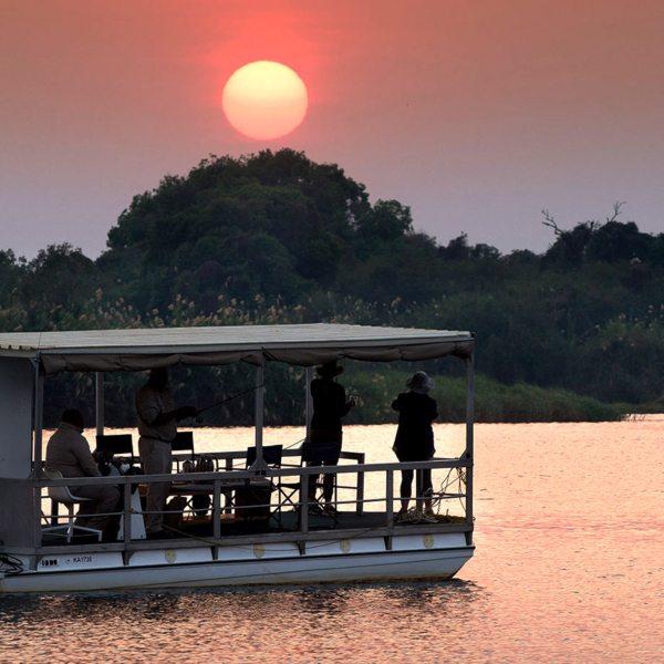 Zambezi sunset cruise | Sunset is a sublime time to be on the Zambezi.