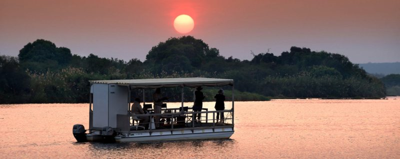 Zambezi sunset cruise | Sunset is a sublime time to be on the Zambezi.