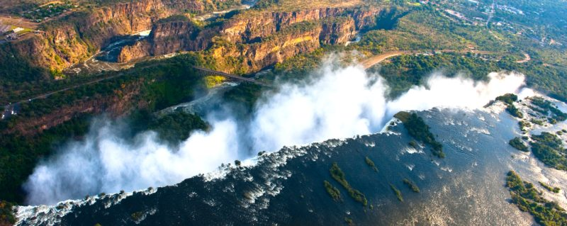 A luxury Zimbabwean safari would be incomplete without a visit to Victoria Falls.