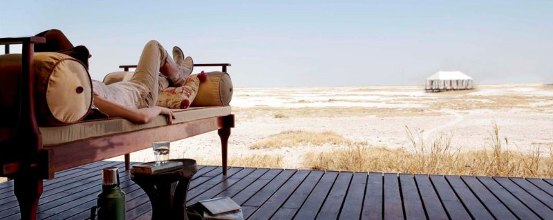 San Camp invites you to relax and simply enjoy the views of the horizon.
