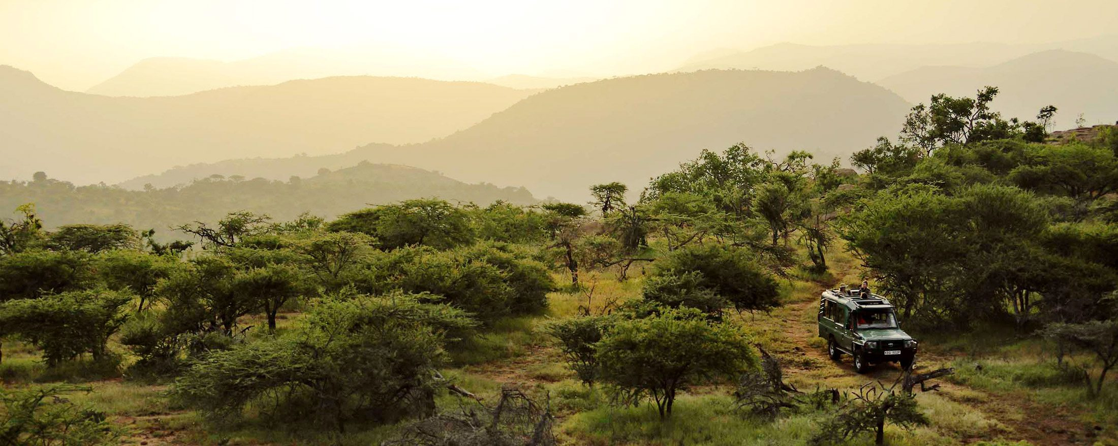 A Laikipia safari offers a truly remote safari experience.