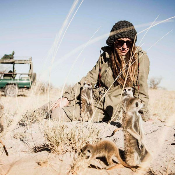 You'll be able to have meerkat encounters near San Camp. © Uncharted Africa