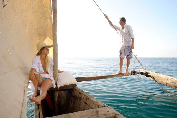 A dhow cruise is a must when staying at Saruni Ocean. © Saruni